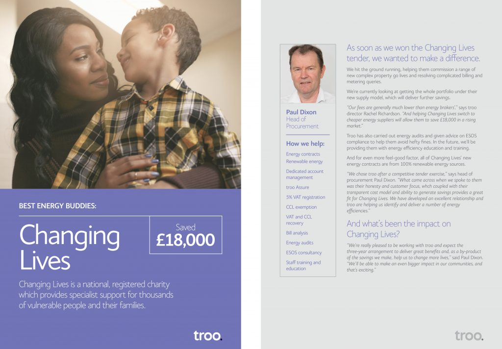 Changing Lives Case Study